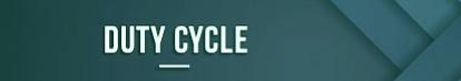 ciclo de trabajo