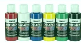 Juegos de colores de aerógrafo Createx 5803-00