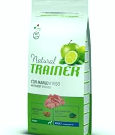 Entrenador natural de ternera y arroz