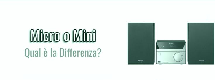 Micro o mini