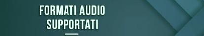 Formatos de audio compatibles