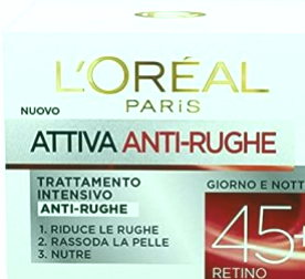 L'Oréal Paris Active antiarrugas 45+