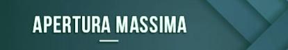 Apertura maxima