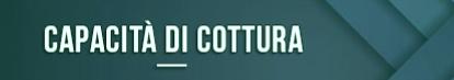 capacidad de cocción