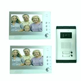 Videoportero para dos familias-B00NP11WJ4