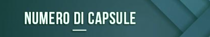 Numero de capsulas