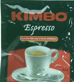 Cápsulas de espresso Kimbo