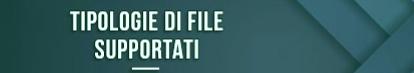 tipos de archivos compatibles