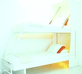 Colgador de cama de día y noche