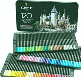 Suministros de arte del castillo