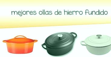 Las 5 mejores ollas de hierro fundido (cazuela)