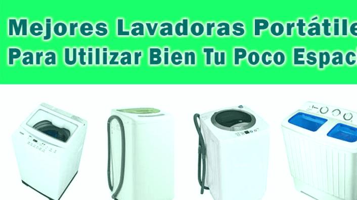 Las 5 mejores unidades de lavado (también portátiles)