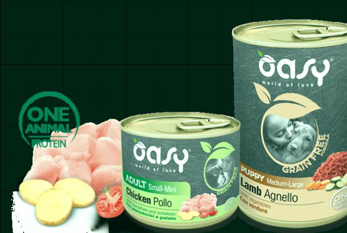 Los 3 mejores alimentos para perros de Oasy