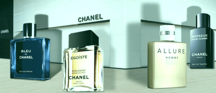 Los 4 mejores perfumes de Chanel para hombres