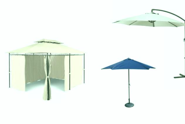 Las 3 mejores sombrillas de jardín 3×3