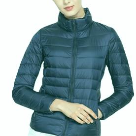 Las 5 mejores chaquetas de plumas para mujer (cálidas y ligeras)