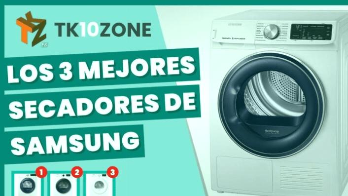 Los 3 mejores secadores Samsung