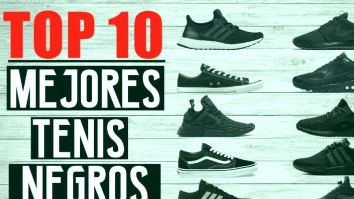 Los 3 mejores zapatos deportivos negros para hombres