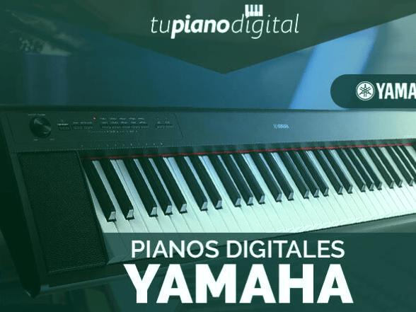 Los 3 mejores pianos digitales de Yamaha