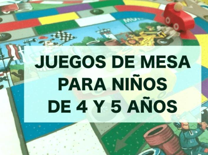 Los 10 mejores juegos para niños de 4 años