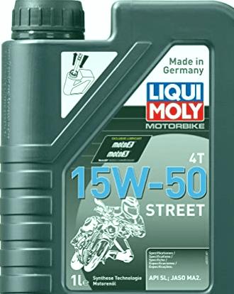 Los 3 mejores aceites de motor para motocicletas 15w50