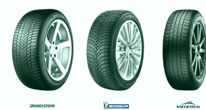 Los 3 mejores neumáticos Michelin 4 estaciones